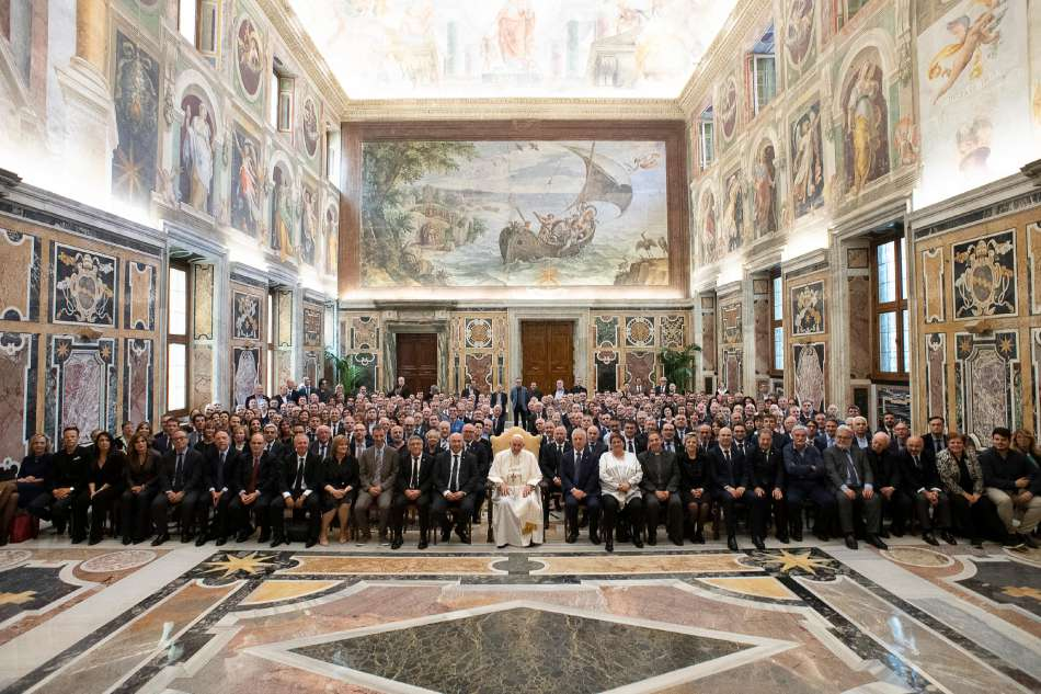 75° di Fondazione Centro Sportivo Italiano, 11 Maggio 2019 Città del Vaticano, Sala Clementina